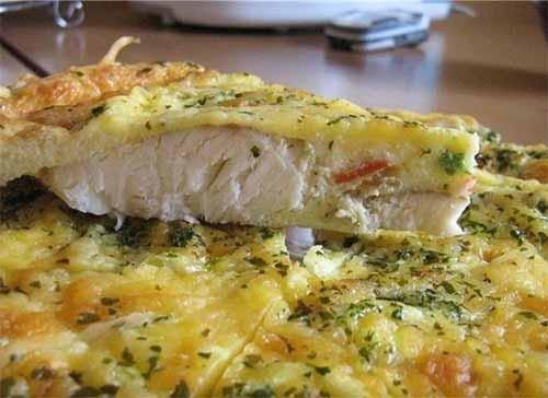 Рыба, запеченная в яйце