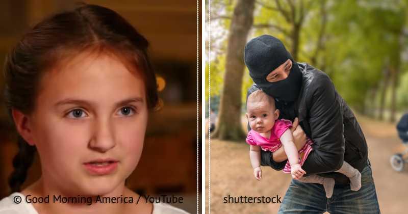 11-летняя девочка чудом избежала похищения, благодаря «кодовому слову». Теперь полиция ставит ее в пример другим детям