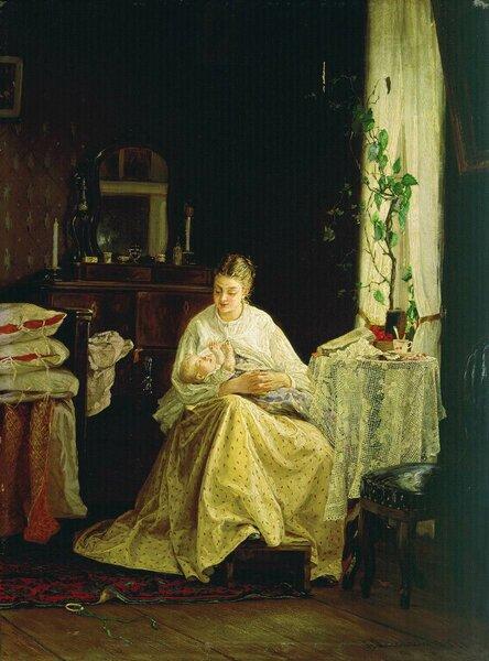 Материнство. 1871. Таганрогский художественный музей