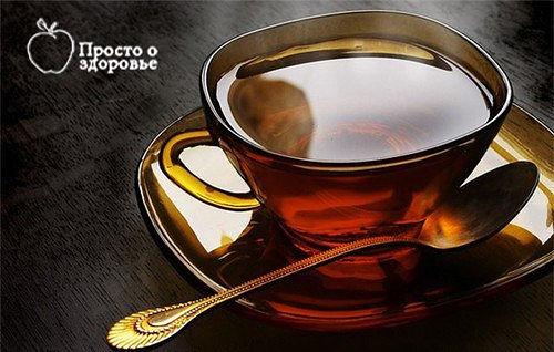 Хронический гайморит можно вылечить обычным черным чаем