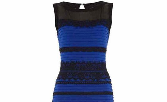Платье оказалоÑÑŒ Ñине-черным