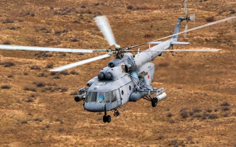 Что делал российский военный Ми-8 в воздушном пространстве Украины Новости