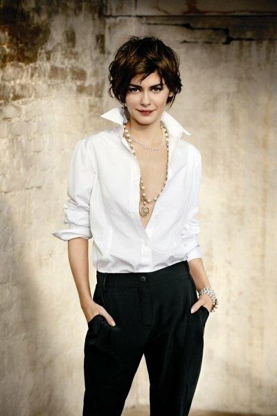 5 главных правил стиля Одри Тоту, которому подражают миллионы женщин актрисы,знаменитости,мода и красота,Одри Тоту,стиль