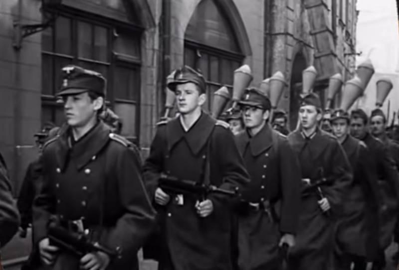 Немецкие «Панцерфаусты» и их гранаты оружие