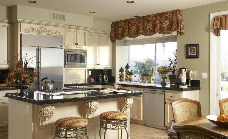 8 впечатляющих способов оформления окна на кухне
