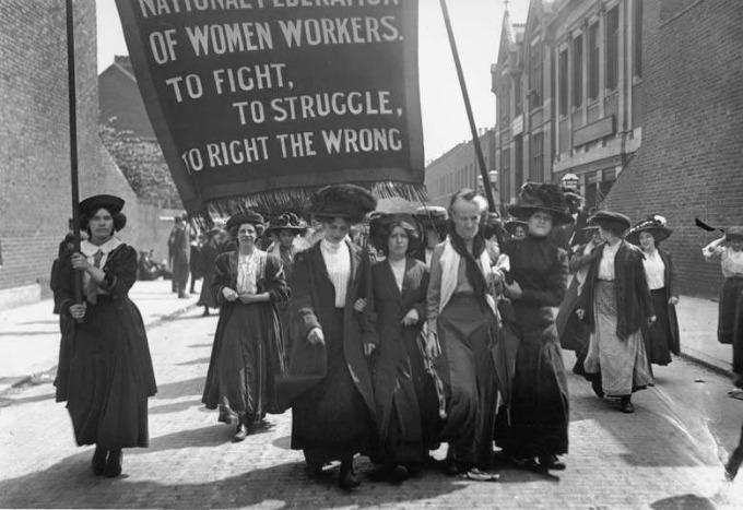 8 марта - настоящий праздник Свободы и Равенства ! Истоки 1857 года