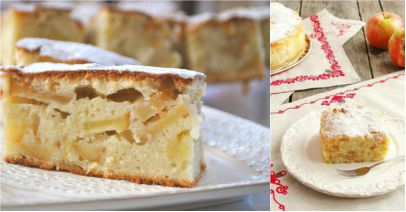 Скороспелый яблочный пирог, который покорит простотой и необыкновенным вкусом!