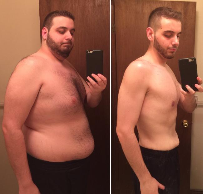 Как мужиком похудеть