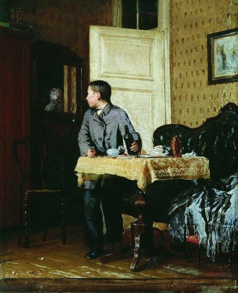 По примеру старших. 1864. Иркутский областной художественный музей