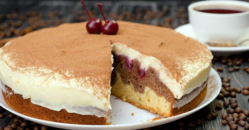 Пирог-торт «Дунайские волны» кулинария,сладкая выпечка