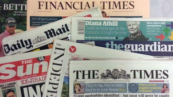 Пресса Британии кончает кипятком.