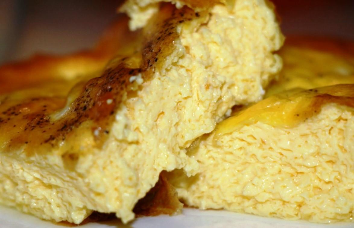 Омлет, как в садике, секрет раскрыт и он оказался прост блюда из яиц,завтрак,омлет