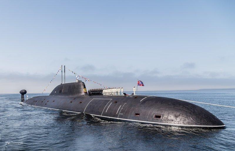 Русские подводники впервые р…