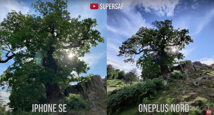 Энтузиаст сравнил фотовозможности бюджетных смартфонов Apple и OnePlus