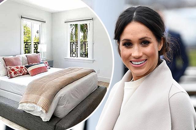 В сети обсуждают интерьеры спален Меган Маркл в ее домах до замужества