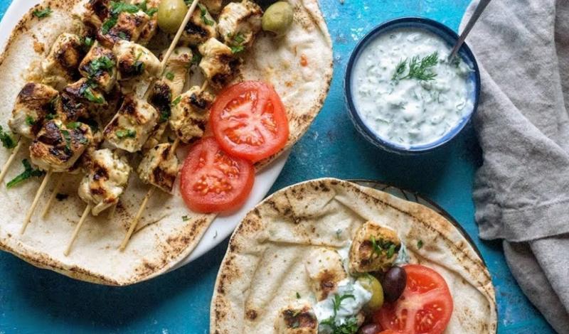 Оказывается все дело в правильном маринаде. Легкий рецепт греческих куриных шашлычков блюда из курицы,кухни мира