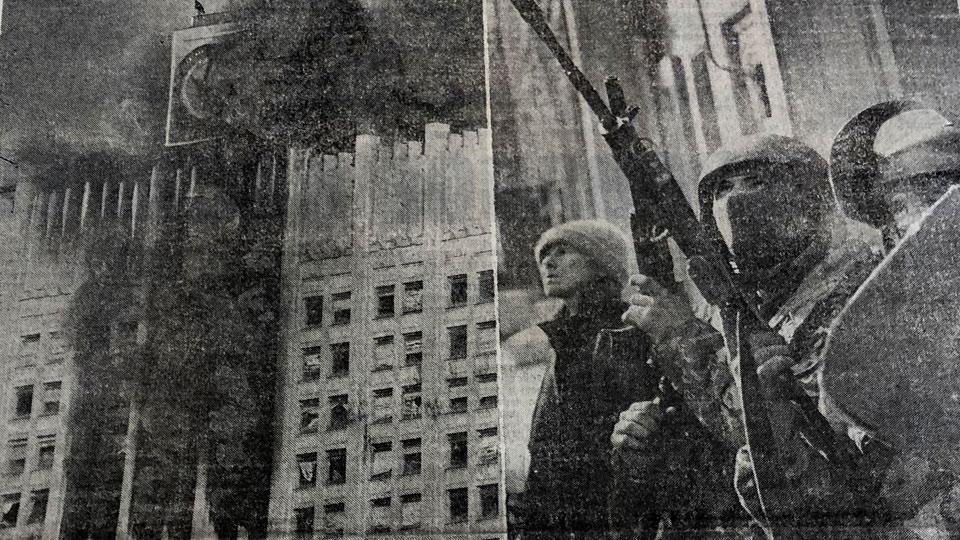 Осада Белого дома, первый «черный вторник», день рождения ваучера и «МММ»: роковой октябрь 90-х