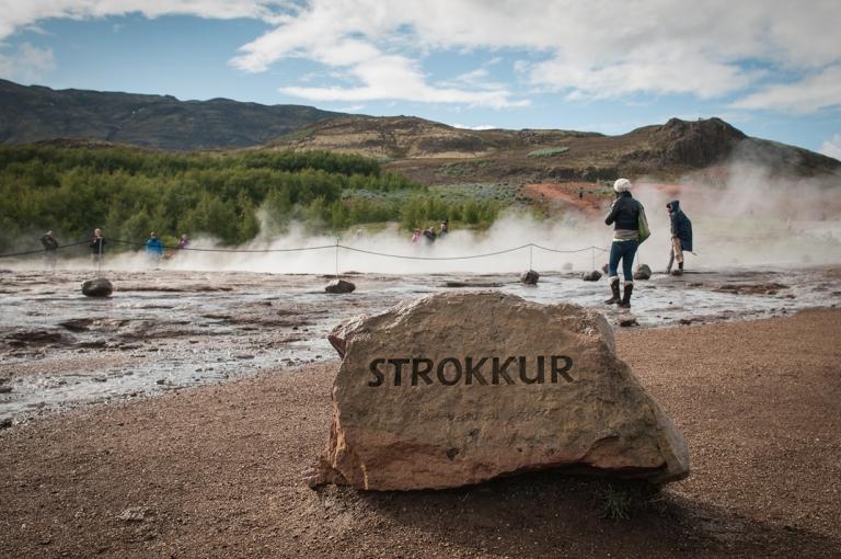Гордость Исландии. Долина с гейзерами (12 фото)