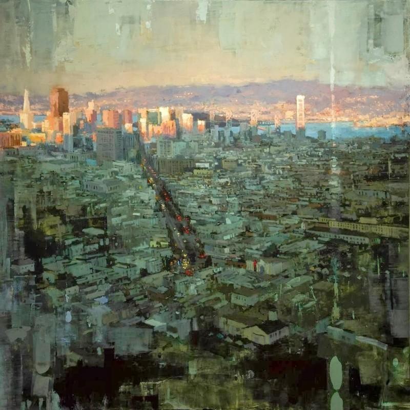 Художники, которые воспевают ритм большого города