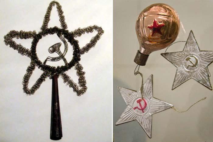 Кремлевские звезды «поселились» на новогодних елках только после 1930-х годов