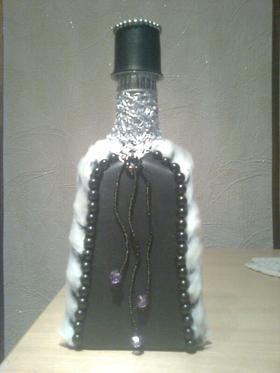 декорирование бутылок,продам