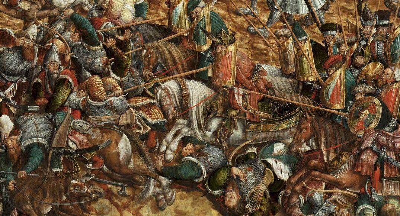 Фото русских войск в куликовской битве