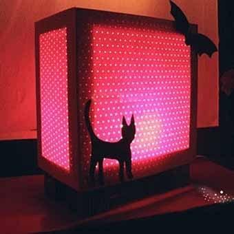 как сделать необычную лампу своими руками