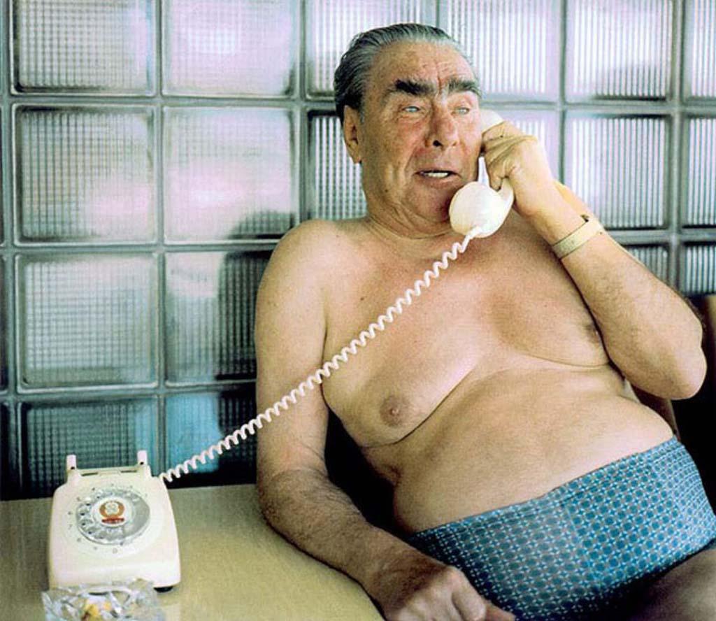 Анекдоты про Брежнева  времён застоя