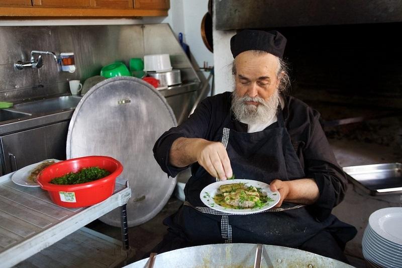 что едят монахи в монастырях