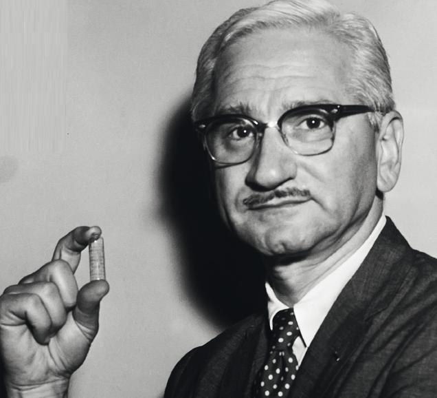 Он победил полиомиелит... и отказался от патента на своё изобретение Сэйбин, полиомиелита, Сэйбина, Альберт, Солка, вакцины, Альберта, когда, вакцину, несколько, человека, тысяч, полиомиелит, стали, после, время, среди, вируса, позднее, человек