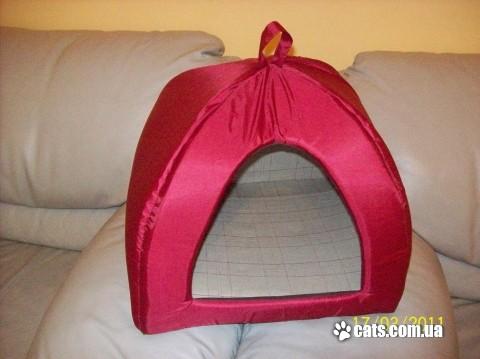 «Кроватка» для Мурки. Лежанка для кошки своими руками 81