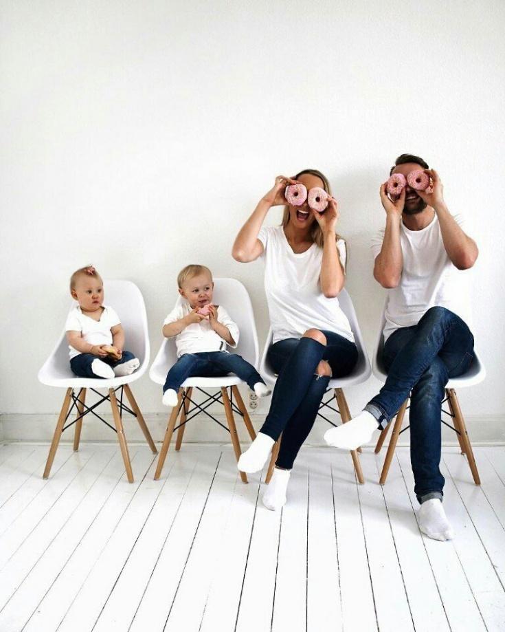 Фотосъемка дома с детьми