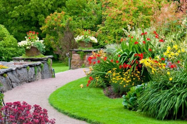 Панорамный сад. Игра с плоскостями и видами