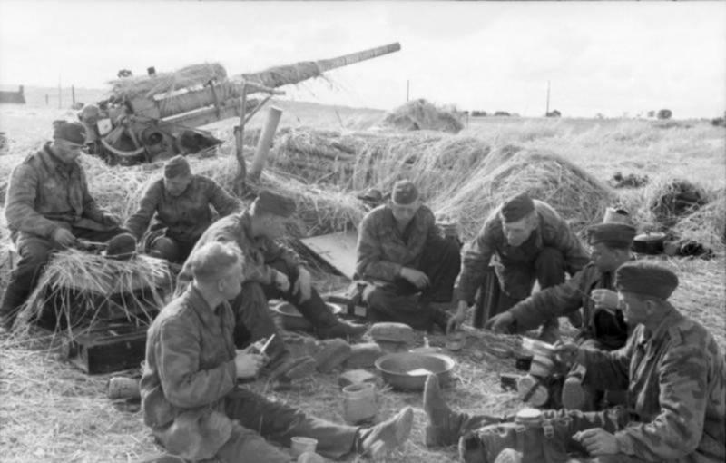 Использование трофейных немецких 88-мм зенитных орудий оружие