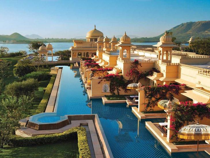 Прогулка по самому шикарному отелю Индии