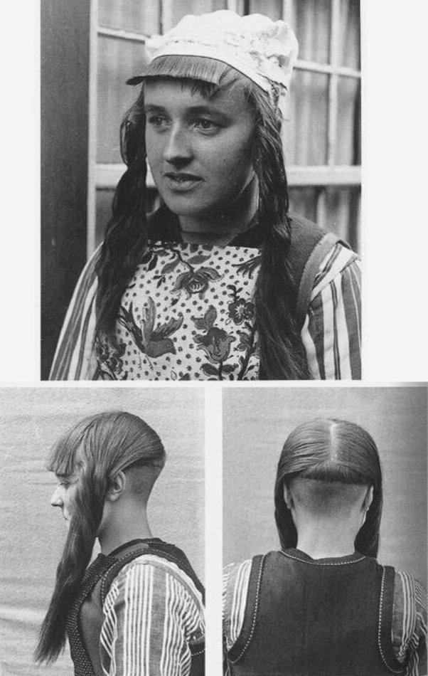15. Традиционная голландская прическа, 1943 год жизнь, исторические фото, история, прошлое, фото