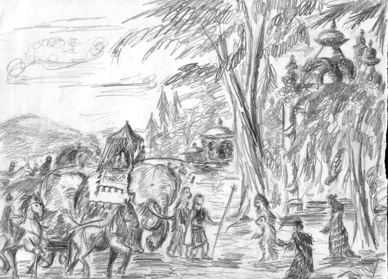 Сибирская история Ханумана и Рамы