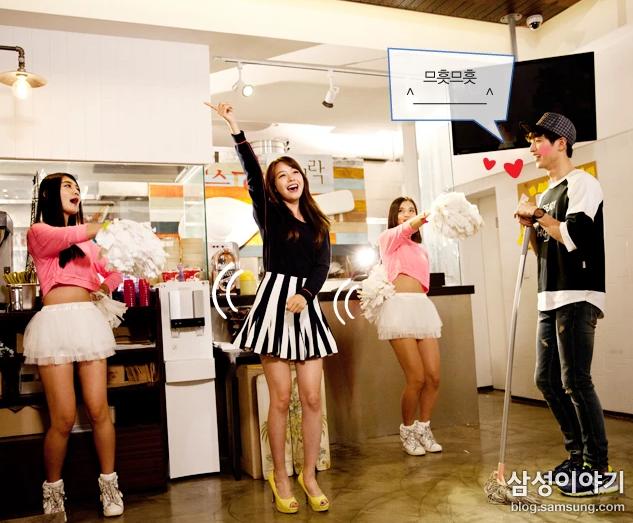 Samsung's New Sitcom: K-Pop Meets 'Glee' Meets 'The Office'
