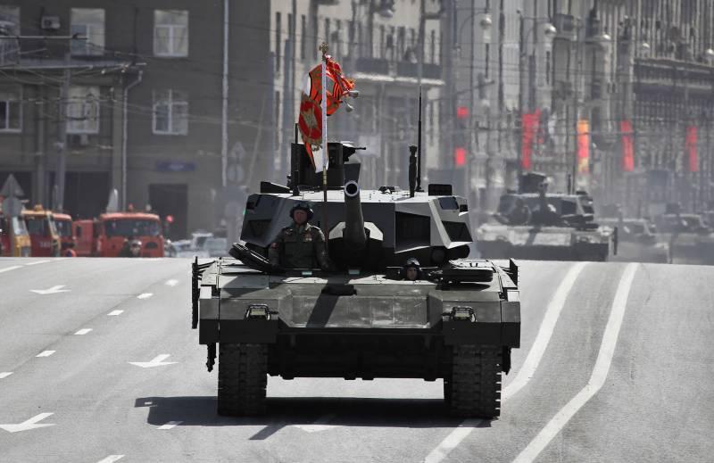 Что происходит с танком «Армата»