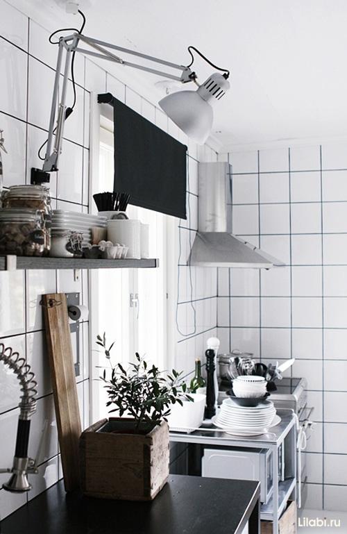 Дизайн кухни белого цвета