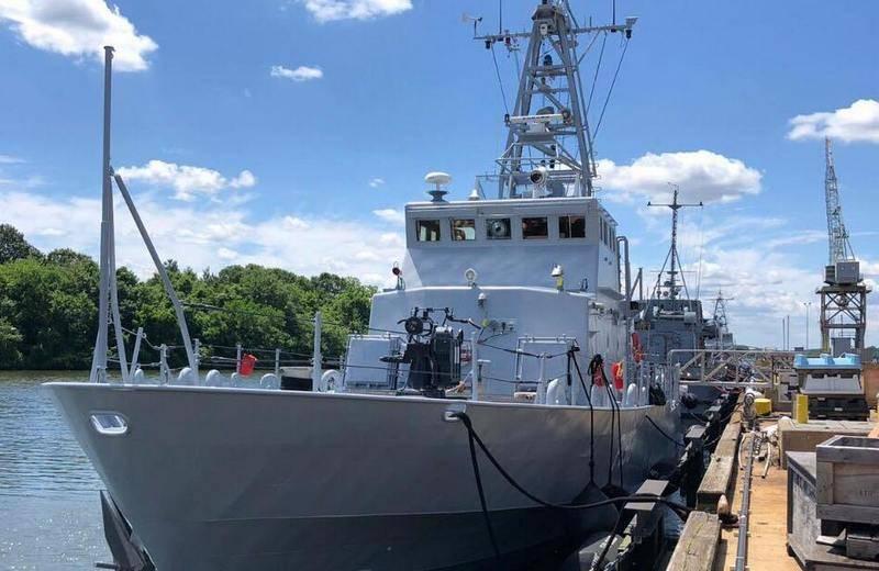 В ВМСУ сообщили о завершении испытаний переданных катеров класса Island