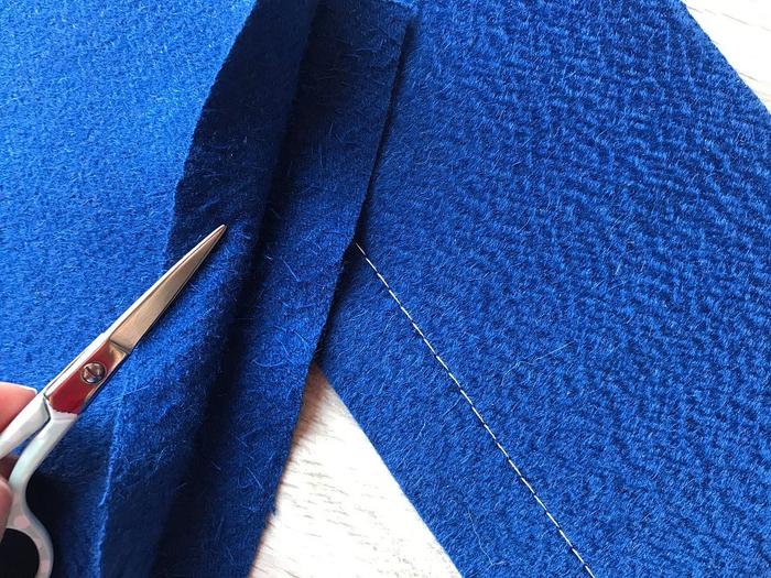 Обработка швов и срезов в изделиях из двухслойной ткани рукодельнице на заметку