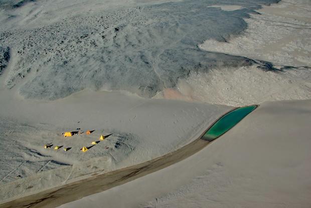 Самое сухое место на Земле— песчаные дюны Антарктиды
