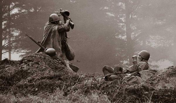 В немецких донесениях о том сражении была информация, что многие трупы были буквально изрешечены штыками – фашисты насчитали на них по 15 и более ранений.