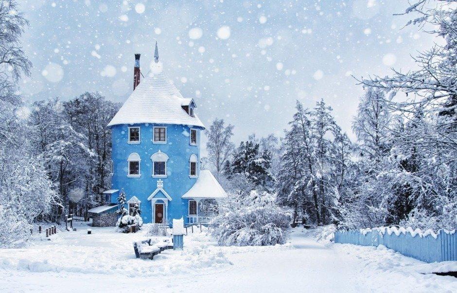 Фотоподборка: волшебные зимние домики