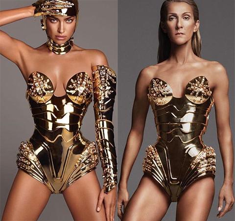 Модная битва: Ирина Шейк против Селин Дион