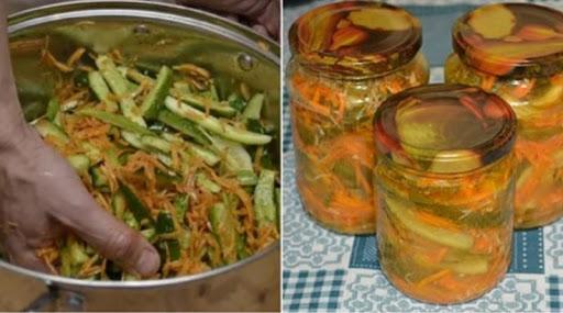 Рецепт консервированных огурцов по-корейски. Вкусная закуска, которую все так любят