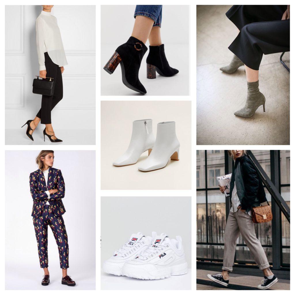 обувь с укороченными брюками фото