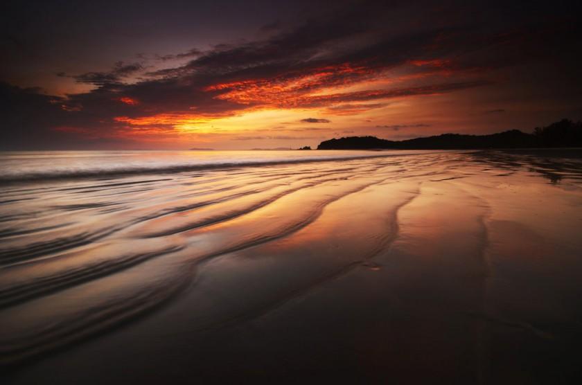 Закат на острове Ко Пхайям