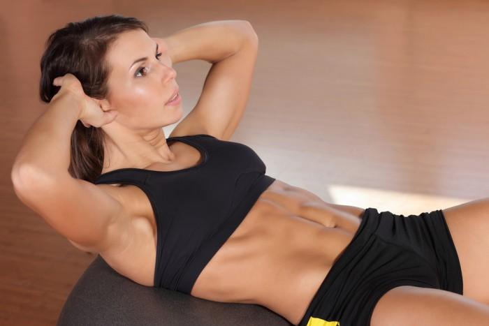 5 упражнений для плоского живота здоровье